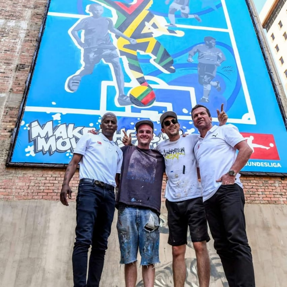 Bundesliga Street Art Johannesburg