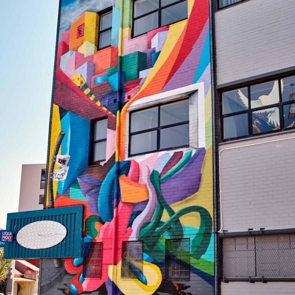 IPAF 2020 Jakes Street art